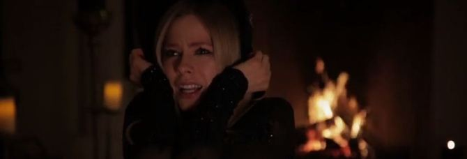 "Avril Lavigne in ""Give You What You Like"" music video"