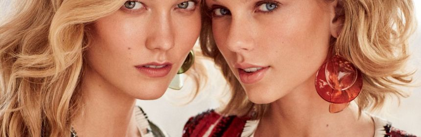 taylor swift and karlie kloss on vogue march 2015 issue
