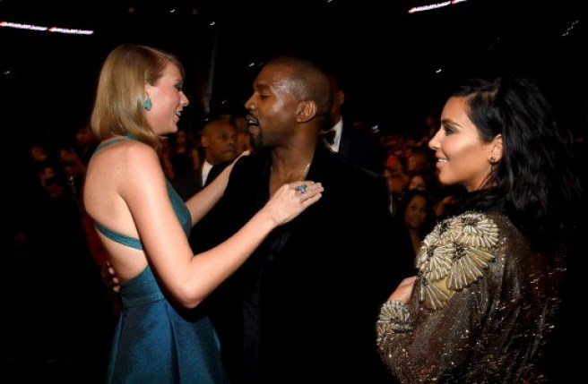 Now, now, hugging was enough. Don't look at Taylor like she's your bae.