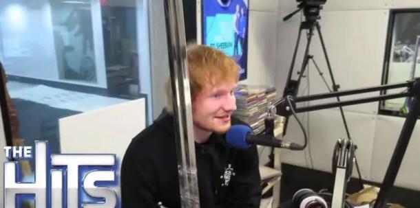Ed Sheeran was so happy about receiving Jon Snow's sword as a gift
