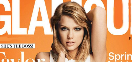 taylor swift belly button underwear in see through dress glamour magazine cover