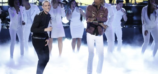 wiz khalifa live performance of see you again on the voice chris jamison