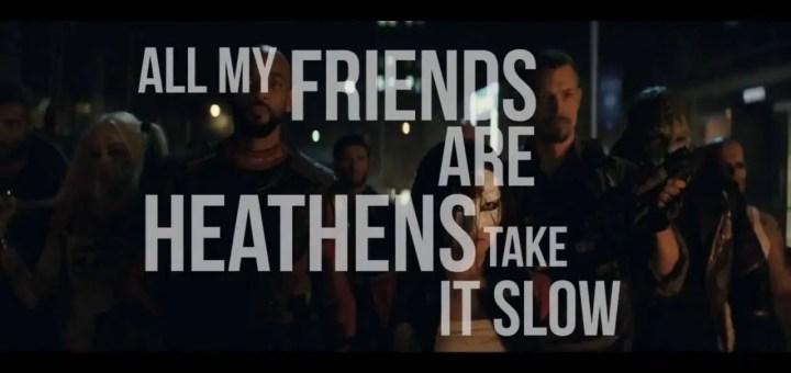 twenty one pilots heathens music video suicide squad