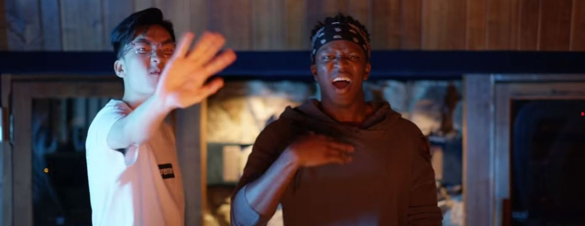 "YouTubers KSI and Ricegum Collab on ""Earthquake"" Rap Diss Video (Review)"
