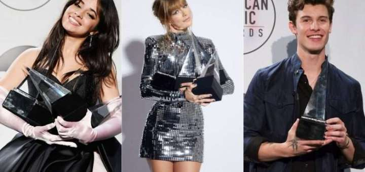 american music awards ama 2018 complete list of winners