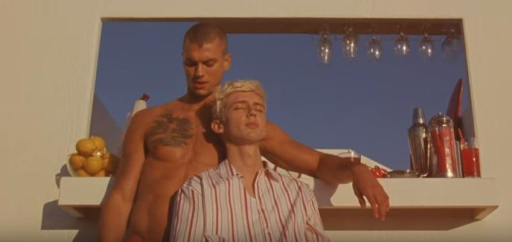 troye sivan lucky strike music video review