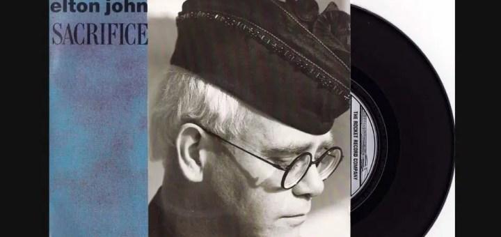 elton john sacrifice lyrics review meaning live
