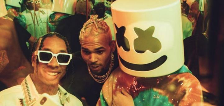 marshmello tyga chris brown light it up music video