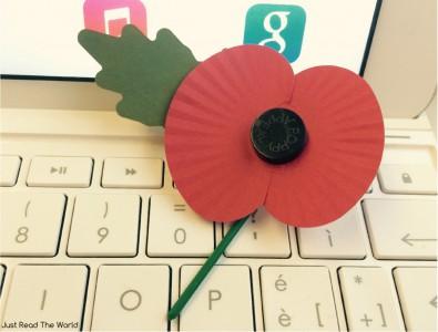 Il red poppy distribuito per il Remembrance Day
