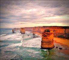 La Twelve Apostles Great Ocean Road (Pinterest)