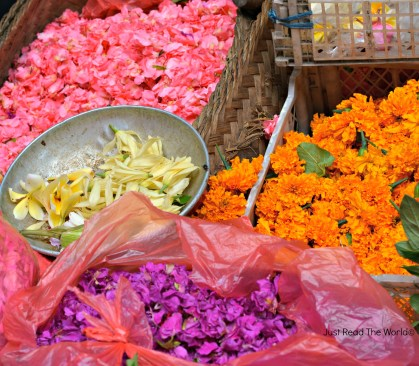 Fiori al mercato di Ubud - Bali