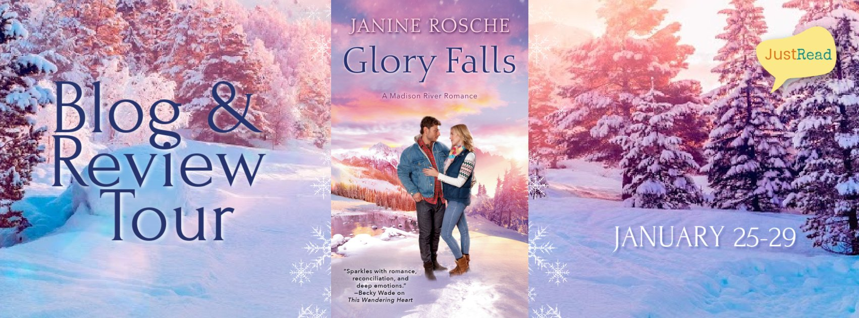 Welcome to the Glory Falls Blog + Review Tour & Giveaway!