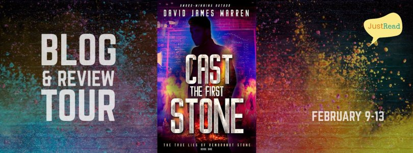 Cast the First Stone JustRead Blog + Review Tour