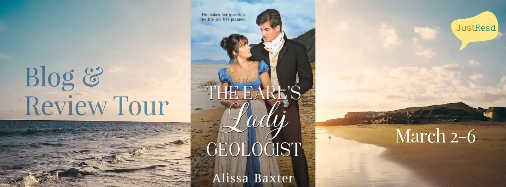 Welcome to The Earl's Lady Geologist Blog + Review Tour & Giveaway!