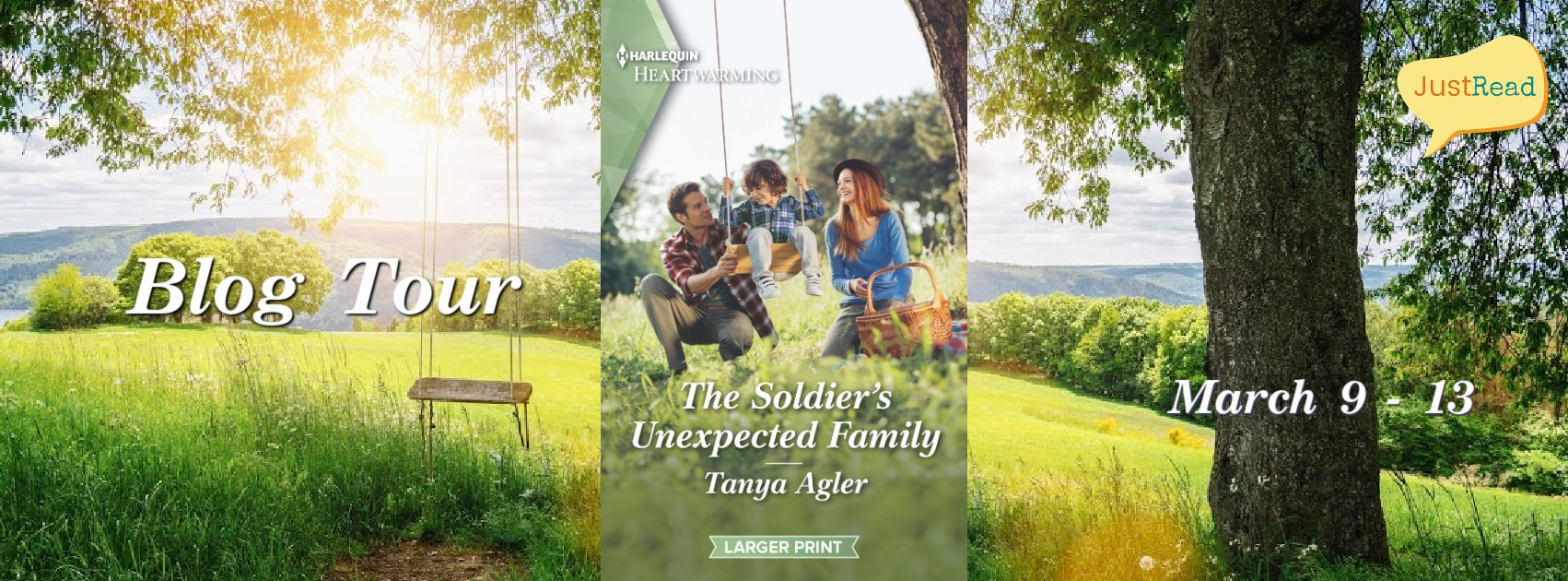 Welcome to The Soldier's Unexpected Family Blog Tour & Giveaway!