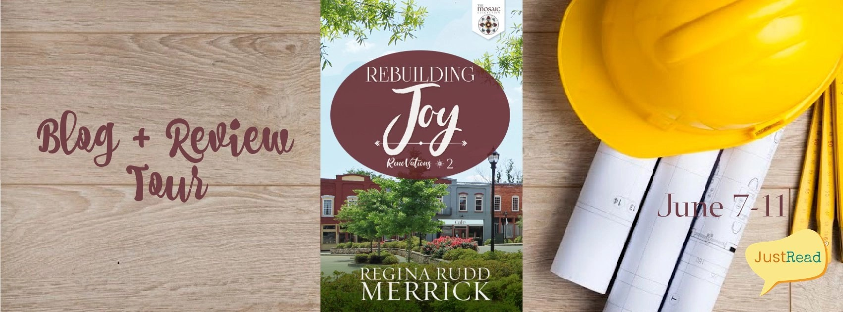 Welcome to the Rebuilding Joy Blog + Review Tour & Giveaway!