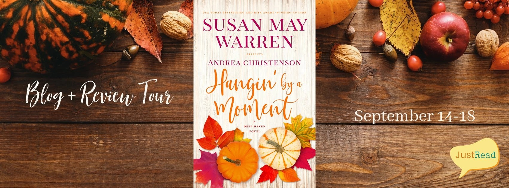 Welcome to the Hangin' by a Moment Blog + Review Tour & Giveaway!