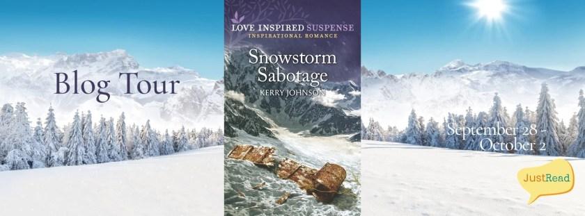 Snowstorm Sabotage JustRead Blog Tour