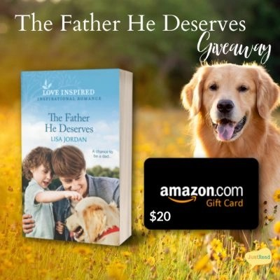 The Father He Deserves JustRead Giveaway