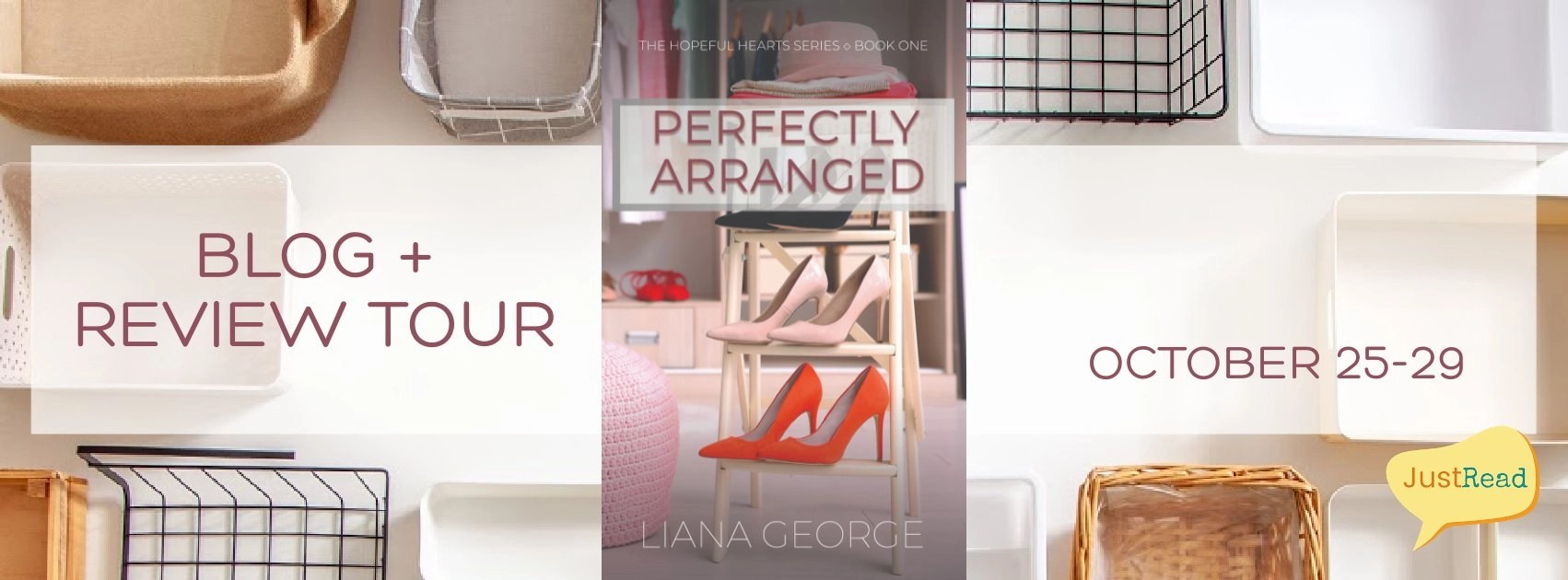 Welcome to the Perfectly Arranged Blog + Review Tour & Giveaway!