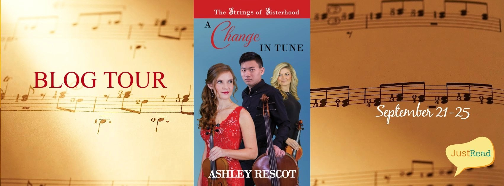 Welcome to the A Change in Tune Blog Tour & Giveaway!