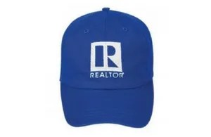 Sports Realtor Hat blue