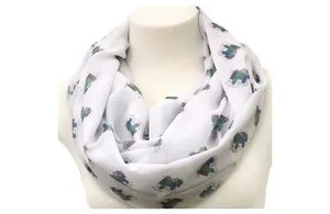 Womens Realtor Scarf Marketing