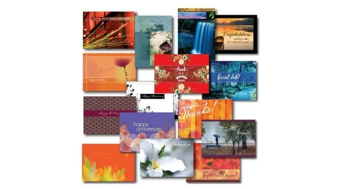 Assortment of Greeting Cards for Realtors