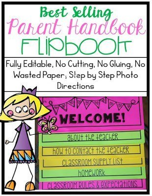 https://www.teacherspayteachers.com/Product/Best-Selling-Parent-Handbook-Flipbook-for-Open-House-Fully-Editable-687228
