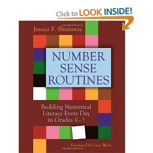 number sense routines book
