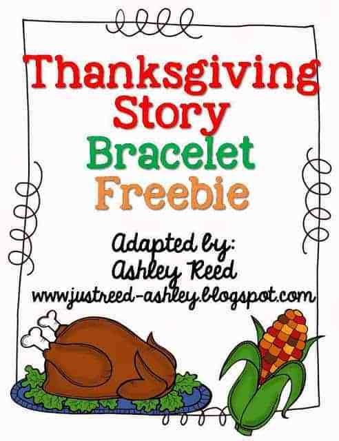 http://www.teacherspayteachers.com/Product/Thanksgiving-Story-Bracelet-Freebie-972384