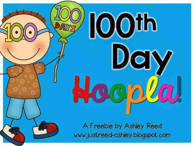 http://www.teacherspayteachers.com/Product/100th-Day-Hoopla-FREEBIE-1062093