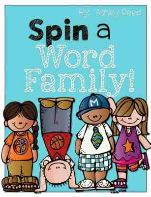 http://www.teacherspayteachers.com/Product/Spin-a-Word-Family-948806
