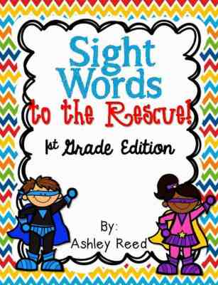 http://www.teacherspayteachers.com/Product/Sight-Words-to-the-Rescue-First-Grade-Edition-914361