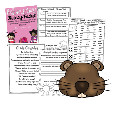 Fluency Resources for the entire month of February.  Nightly fluency homework is fun, engaging, and beneficial for improving fluency!