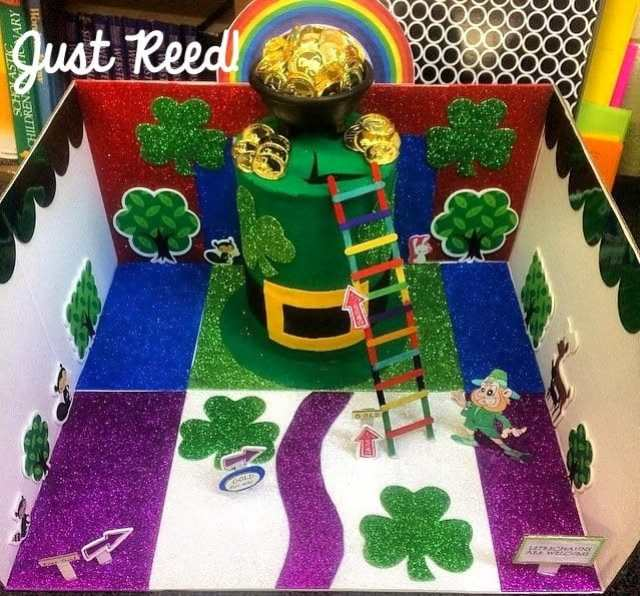 This fun family project will be the highlight of your St. Patrick's Day celebration! Integrate writing into the project, and students learn while they play!