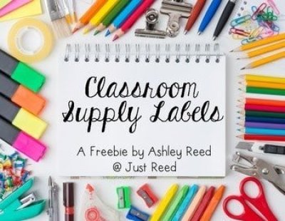 https://www.teacherspayteachers.com/Product/Classroom-Supply-Labels-FREEBIE-1923436