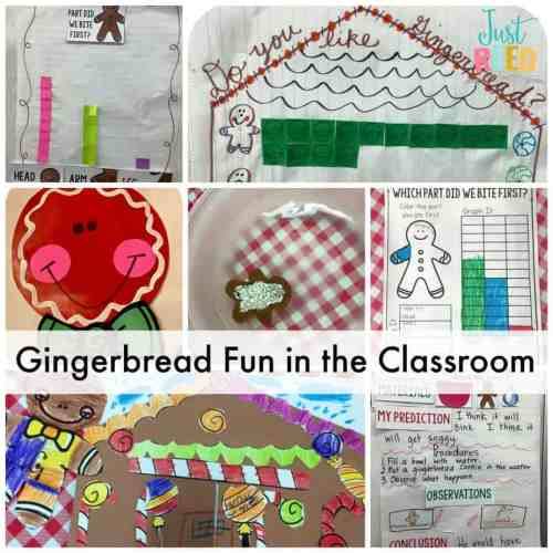 gingerbread fun in the classroom