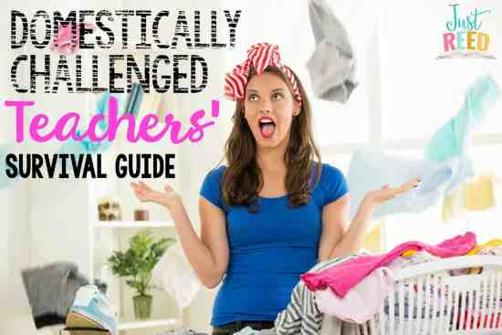 domestically challenged teachers' survival guide