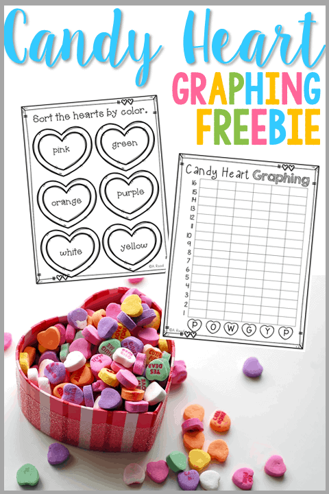 February is the time for fun learning! Engage your students in a math activity by having them graph their candy hearts with this fun freebie!