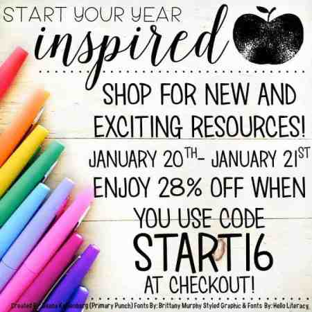 start your year sale