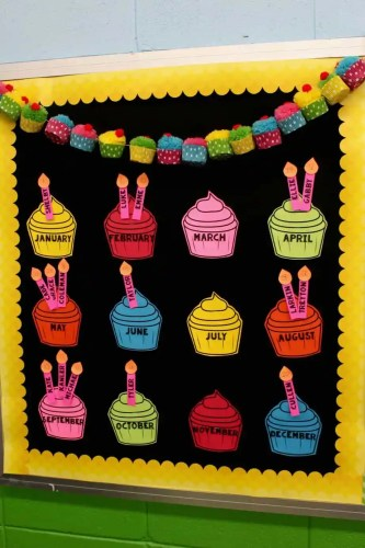 Learn how to create this beautiful display for your classroom and grab a free template!