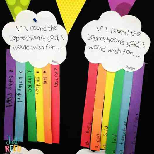 rainbow bulletin board 2
