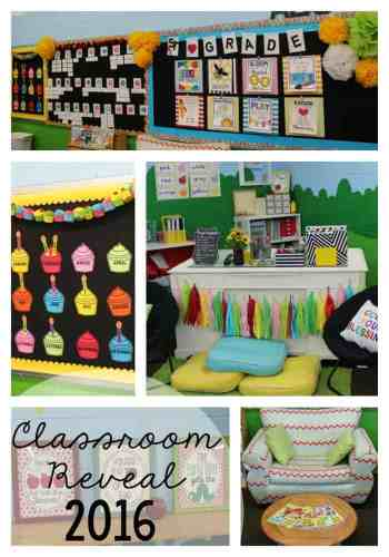 Classroom Reveal 2016