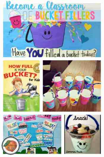 bucket fillers primary peach pinnable image