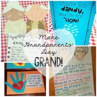 Make Grandparents Day grand with these fun ideas, crafts, and freebies!