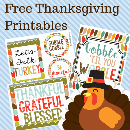 These free Thanksgiving printables will make your celebration fun and festive!