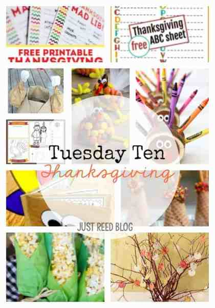Ten Ways to Make Thanksgiving Fun, Meaningful, and Crafty for Kids!