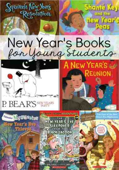 Stock your classroom library with these New Year's Books