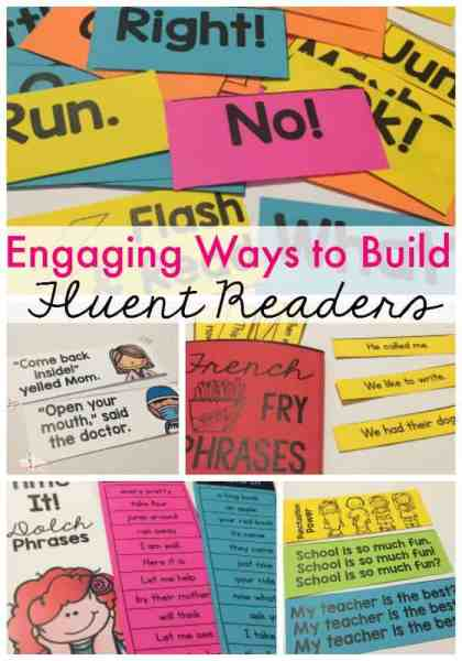 These engaging strategies will help your students master the four components of fluent reading.